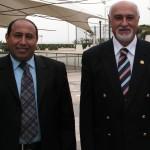 رئيس اللجنة الوطنية الأولمبية أحمد الحجية