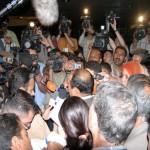 أثناء الإعلان عن قانون إدارة الدولة في آذار 2004