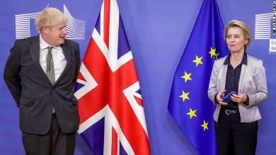 الطلاق العسير بين لندن وبروكسل