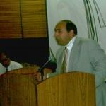 في مؤتمر الأهوار ببغداد-صيف 2004