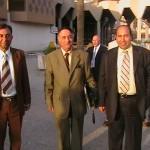 الناقد الموسيقي الراحل الدكتور عادل الهاشمي في بغداد عام 2005
