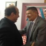 مع الأستاذ طلال هاتف بعد فراق دام ٣٤ عاما