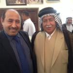 في تجمع عشائري في مضيف بني زيد في الشطرة-حزيران ٢٠١٤